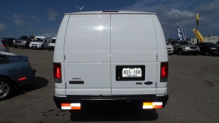 Ford Econoline Cargo Van Recreational Blanco 2009
