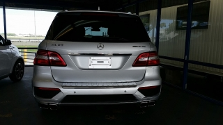 Mercedes-Benz M-Class ML63 AMG Iridium Silver Metallic 2014