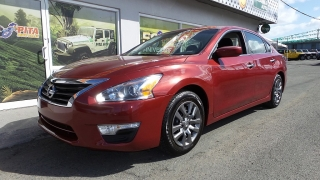 Nissan Altima S Rojo 2014