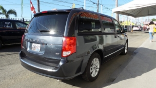 Dodge Grand Caravan Sxt Gris Oscuro 2014