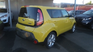 Kia Soul Wave Amarillo 2016