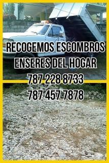 Recogido enseres del hogar 457 7878 Puerto Rico