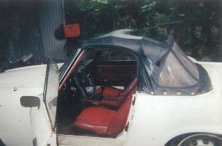 Datsun Roadster 1600 de 1969, $3500