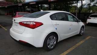 Kia Forte Lx Blanco 2016