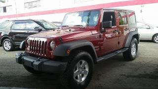 Jeep Wrangler Unlimited Sport Rojo Vino 2013