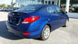 Hyundai Accent GL Azul 2016