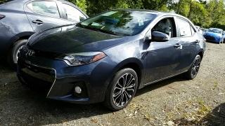 Toyota Corolla S Gris Oscuro 2016