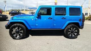 Jeep Wrangler Unlimited Rubicon Azul 2015