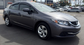 Honda Civic Sedan Lx Gris Oscuro 2015