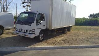 Isuzu Npr-truck / Cajon Cerrado van body Blanco 2006