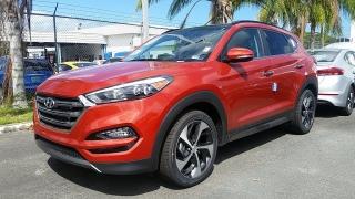 Hyundai Tucson Limited Anaranjado 2016