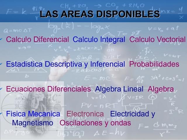 Trabajos, Estadistica, Algebra Lineal, Calculo, Programacion Lineal, y Fisica