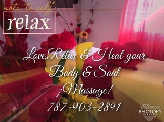 Love and Pamper your body with a fullbody Massage