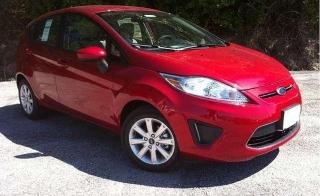 Ford Fiesta 2011 Rojo