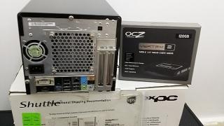 Computadora Shuttle XPC de alto rendimiento compacta