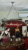 Lampara Cerveza Budweiser Bar Billar