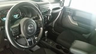 Jeep Wrangler Unlimited Sport Plateado 2013