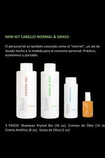 Mini Kit de Cabello Normal y Graso
