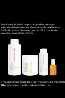 Proteinas y enzimas especializadas para el nacimiento de cabello sano y fortificado.