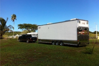 Renegade 35' Stacker '01 Cambio X lancha W/A 28 - 31 ft