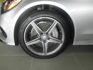 Mercedes-benz C-class C300 Plateado 2015