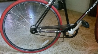 "Bicicleta Fixie""thruster edition"""