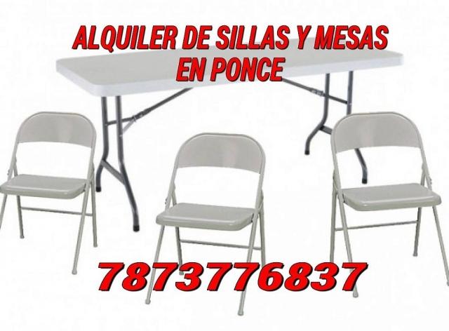 Sillas y mesas alquiler y venta en puerto rico share the for Alquiler mesas sillas