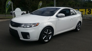 Kia Forte Koup SX Blanco 2012