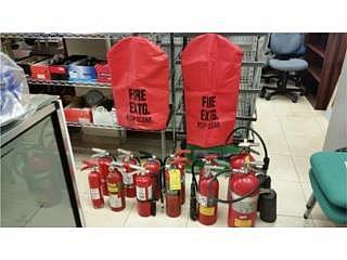 Extintores de Fuego ABC y CO2