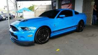 Ford Mustang Shelby GT500 Azul 2014