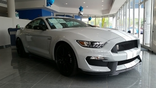 Ford Mustang Shelby GT350 Blanco 2016