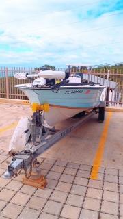 combo bote, carreton y Montero 4x4 Excelente inversion
