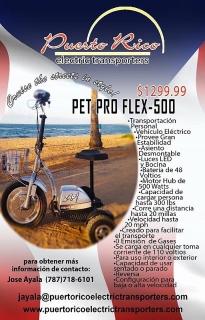 Pet Pro Flex-550 Scooters *Puerto Rico Electric Transporters*