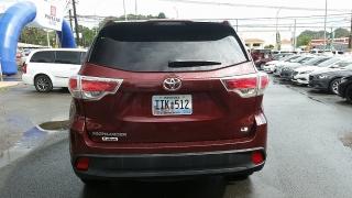 Toyota Highlander LE Rojo Vino 2014
