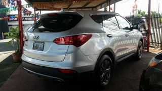 Hyundai Santa Fe Sport Plateado 2016