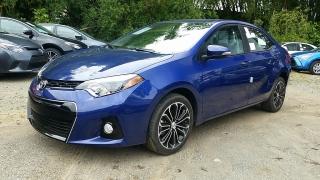 Toyota Corolla S Azul 2016