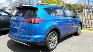 Toyota Rav4 Limited Azul 2016