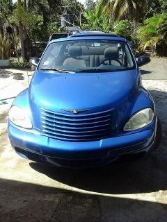 Chrysler pt cruiser 2005 Azul