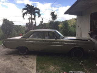 Auto antigua.