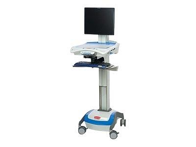 Equipo Medico, Carrito médico Rubbermaid -  Medical M3800A35HS LCD Cart 35A
