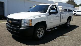 Chevrolet Silverado 1500 Work Truck Blanco 2012
