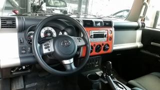 Toyota Fj Cruiser Anaranjado 2014