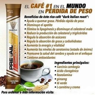 Pierde peso tomando café