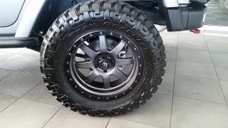 Jeep Wrangler Unlimited Rubicon Plateado 2016