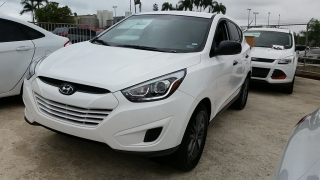 Hyundai Tucson GLS Blanco 2015