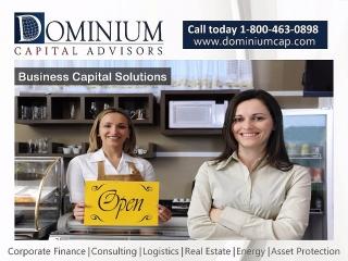 Capital para negocios, hospitales, franquicias y otros.