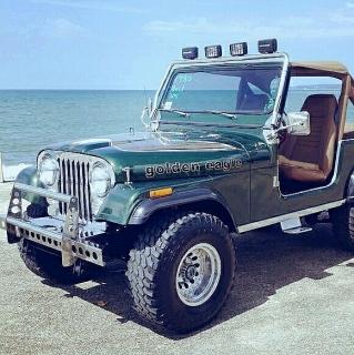 Jeep cji7 del 80