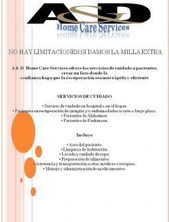 Servicios al paciente