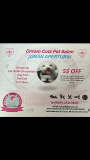 Dream Cuts Pet Salon