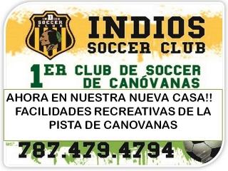 INDIOS SOCCER CLUB DE CANOVANAS